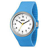 Braun Gents Blue Rubber Strap Watch BN0111WHBLG BN0111WHBLG