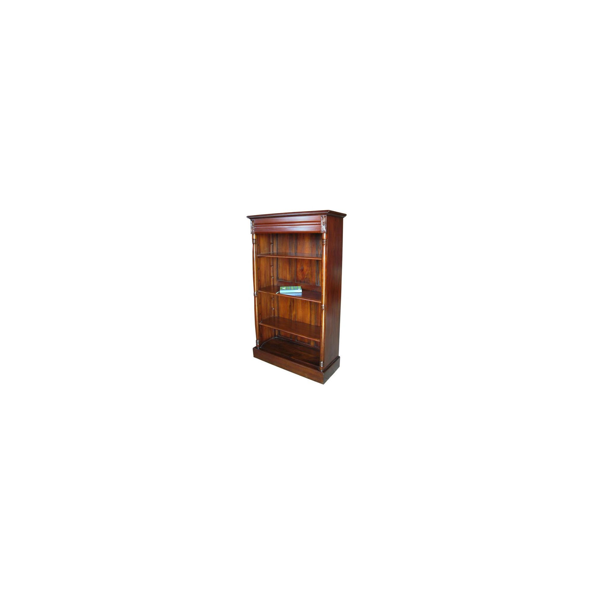 Lock stock and barrel Mahogany 3 Shelf Medium Bookcase in Mahogany at Tesco Direct