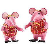 Clangers Collectable Figure Pack - Tiny & Mother Clanger