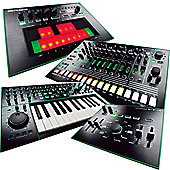 Roland Aira Pack 5 Includes - TB-3 Touch Bassline, TR-8 Rhythm Performer, System-1 Synthesiser, VT-3 Voice Transformer