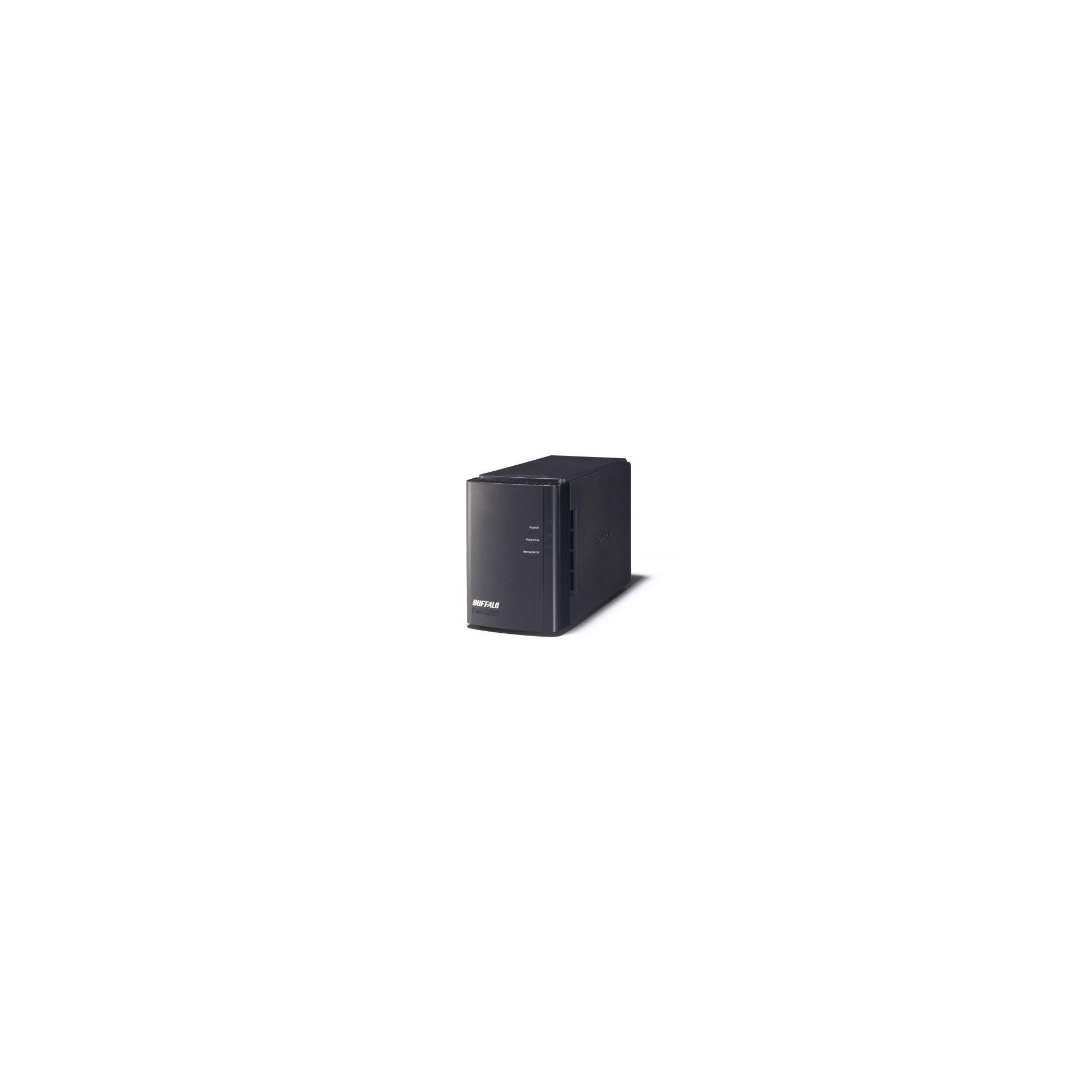 Buffalo LinkStation Duo 8TB (2x4TB) Shared NAS Device with USB 2.0/LAN Interface (Europe) CBID:2338528 at Tesco Direct