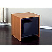 Salamander Barcelona Single Subwoofer in Natural Cherry Wood