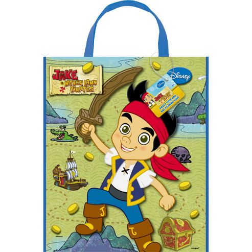 Pirate Party Jake Neverland Pirates Tote Bag (each)