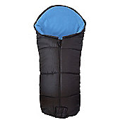 Universal Deluxe Footmuff For Out And About PushchairBlue