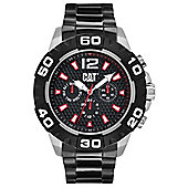 CAT Mens Black Ion-plated 24 hour Day & Date Watch PQ.149.12.138