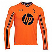 2013-14 Tottenham Home Goalkeeper Shirt (Orange) - Orange