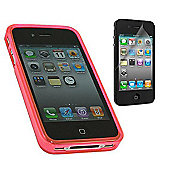 Pink Twin Pack ProGel Skin Case & LCD Screen Protector - Apple iPhone 4
