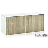 Frank Olsen INTEL1100WOK White TV Cabinet For TVs Up To 55 inch 55 inch