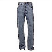 "Ciro Citterio Denim Straight Cut Mens Jeans - 34"" Leg - Sky blue"