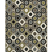 Think Rugs Matrix Grey/Green Rug - 120 cm x 170 cm (3 ft 9 in x 5 ft 7 in)