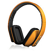 iT7x2 Bluetooth Wireless Headphones Orange Matte