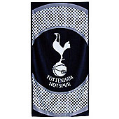 Tottenham Hotspur Fc 'Bullseye' Football Printed Beach Towel