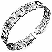 Urban Male Solid Tungsten Carbide Panther Link Magnetic Bracelet