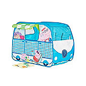 Peppa Pig Campervan Pop Up Role Play Tent