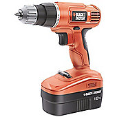 Black & Decker Drill driver 10mm keyless chuck 18v EPC18CAK