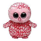 "TY Beanie Boo Buddy 9"" Plush - Pinky Barn Owl"