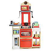 Little Tikes Cook 'n Store Kitchen Red