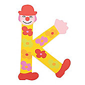Tatiri TA411 Crazy Clown Wooden Letter K