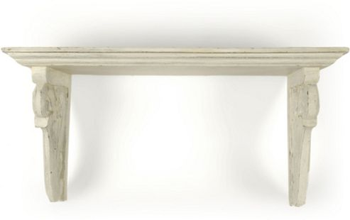 Papa Theo Georgia Small Shelf in Antique White finish