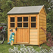 4 x 4 Deluxe Little Lodge Playhouse (1.25m x 1.29m)