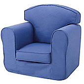Children's Single Sofa Chair - Blue
