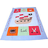 Pirate Children's Quilt