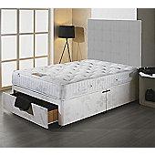 Luxan Stress Free Single Size Bed Set - No Headboard - 2 Drawers