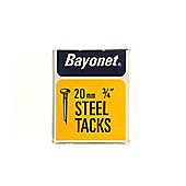 Shaw Bayonet Tacks 3/4In/20mm