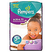 Pampers Active Fit Size 5+ Monthly Pack - 124 Nappies
