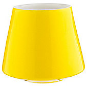 Tesco Yellow Ceramic Filled Candle