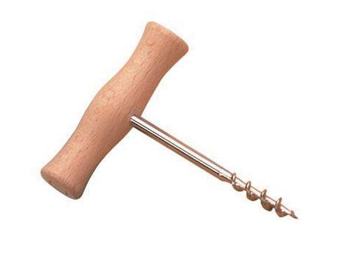 Zodiac Tbar T-bar Wood Handle Corkscrew