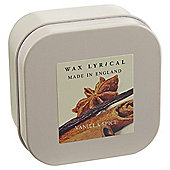 Wax Lyrical Made in England Vanilla Spice Candle Tin