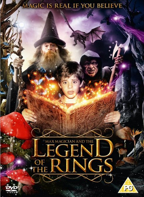 Max Magician And The Legend Of The Rings DVD