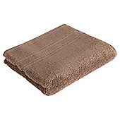 Tesco 100% Combed Cotton Hand Towel Mocha