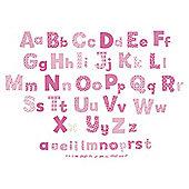FunToSee Nursery Alphabet Wall Stickers