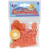 Jacks Orange Scented Bracelet Refill Pack - 300 Loom Bands
