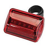 Silverline 5 LED Bike Lamp Red