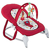 Chicco New Hoopla Baby Bouncer, Red