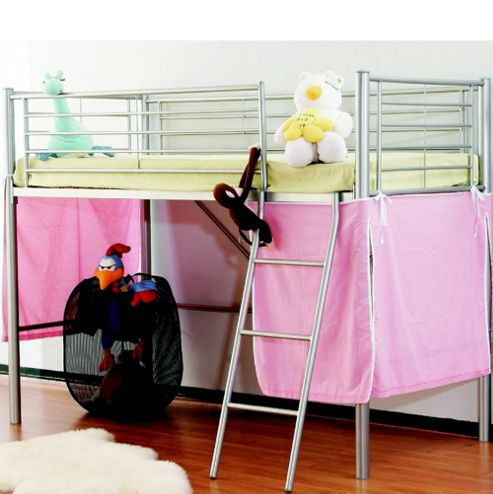 Joseph Intl Metal Mid Sleeper Bed