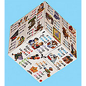 Zoobookoo Word Forming Cube