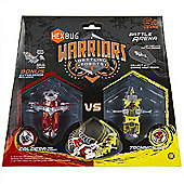 Hexbug Warriors Battling Robots Battle Arena With Hexbugs Caldera And Tronika