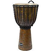 "World Rhythm 9"" Jammer Tribal Natural Djembe Drums"