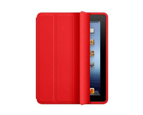 Apple Polyurethane Smart Case for iPad 2/3 (Red)