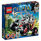 LEGO Legends of Chima Wakz' Pack Tracker 70004