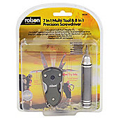 Rolson Multi Tool with Precision Screwdriver