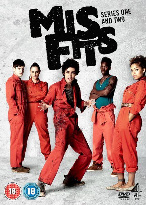 Misfits - Series 1-2 - Complete (DVD Boxset)