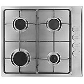 MyAppliances ART28907 60cm Gas Hob in Stainless Steel