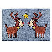 Rudolph the Red Nosed Reindeer Christmas Coir Doormat