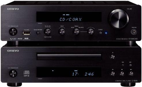 ONKYO PHA1045DAB CD/DAB/FM MINI SYSTEM (BLACK)
