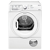 Hotpoint Aquarius TCFS73BGP Freestanding Condenser Tumble Dryer, 7Kg Load, B Energy Rating, White